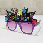 Happy Birthday Party Glasses Pk 1