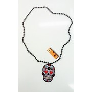 Day Of The Dead Skull Necklace Pk 1
