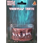 Halloween Werewolf Teeth (1 Set) Pk 1