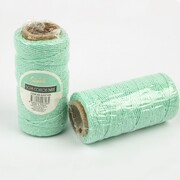Mint Green Cotton Twine String (50m) Pk 1 (1 ROLL ONLY)