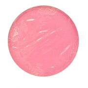 Neon Rose Pink Round Paper Plates (18cm) Pk 12