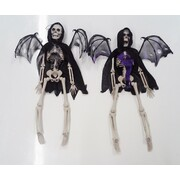 Assorted Reaper Hanging Skeleton Decoration (40cm) Pk 2