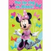 Minnie Mouse Pin the Ring Party Game Pk 1