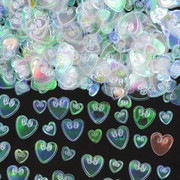 Iridescent Embossed Hearts Confetti Pk 1
