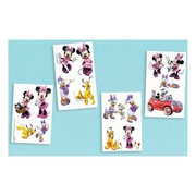 Minnie Mouse Tattoos (1 Sheet of 4 Tattoo Strips)