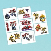 Transformers Tattoos (1 Sheet of 8 Tattoo Squares)