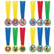 Paw Patrol Award Medal Party Favours Pk 12