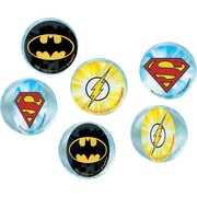 Justice League Bounce Ball Party Favours Pk 6