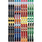 Justice League Pencil Party Favours Pk 12