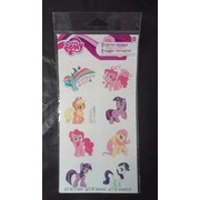 My Little Pony Tattoos (1 Sheet of 8 Tattoo Squares)