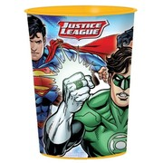 Justice League 16oz. Plastic Favour Cup Pk 1