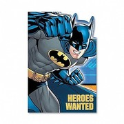 Batman Invitations Pk 8