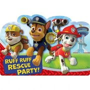 Paw Patrol Invitations Pk 8