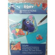 Finding Dory Invitations Pk 8