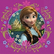 Frozen 2Ply Lunch Napkins Pk 16