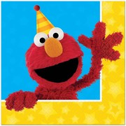Sesame Street (Elmo) 2 Ply Lunch Napkins Pk 16