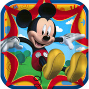 Mickey Mouse 9in. Square Paper Plates Pk 8