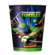 Teenage Mutant Ninja Turtles 9oz Paper Cups Pk 8