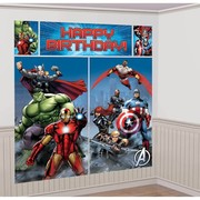 Avengers Giant Scene Setter Wall Decorating Kit - 5 Piece Set