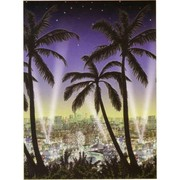 Hollywood Scene Setter Party Decoration - City Scape Roll Pk1