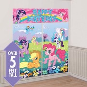 My Little Pony Giant Scene Setter Wall Decorating Kit - 5 Piece Set