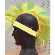 Aussie Australia Day Green & Gold Mohawk Hat Pk 1