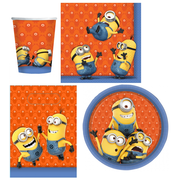 Despicable Me Minions Party Pack for 8 people Pk 40