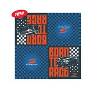 Supercars V8 2 Ply Lunch Napkins Pk 16