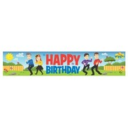 The Wiggles Happy Birthday Party Banner (150cm x 30cm) Pk 1