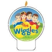 The Wiggles Flat Cake Candle Pk 1