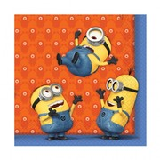 Despicable Me Minions Lunch Napkins 3Ply Pk20