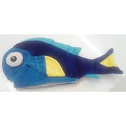 Adult Blue Tang Fish Soft Novelty Hat Pk 1
