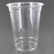 Clear Plastic Cups 300ml Pk 50 (To Fit Small Dome Lids)