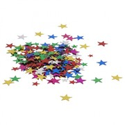 Small Assorted Colour Stars Confetti Scatters (15g)