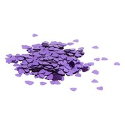 Small Purple Hearts Confetti Scatters (15g)