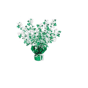 Gleam n Burst Shamrocks Centrepiece (38cm) Pk 1