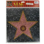 Party Decoration -Peel N Place Hollywood Star Pk1