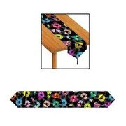 Rock and Roll Paper Table Runner (1.8m) Pk 1