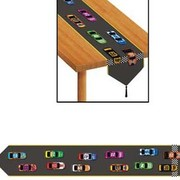 Car Racing Table Runner (1.8m) Pk 1