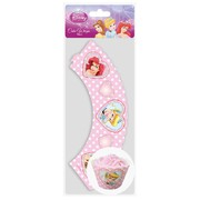 Disney Princess Party Cupcake Wrappers Pk 12