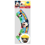 Mickey Mouse Party Cupcake Wrappers Pk 12