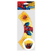 Spiderman Party Cupcake Wrappers Pk 12
