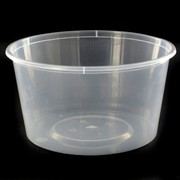 Containers Takeaway Round 440ml 120x63mm Pk50
