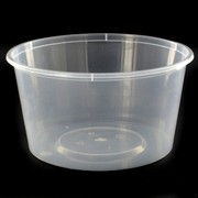 Containers Takeaway Round 440ml 120x63mm Pk 500