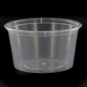 Containers Takeaway Round 120ml 70x48mm Pk50