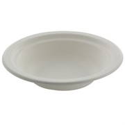 White Paper Bowls - Medium 17.5cm Pk50