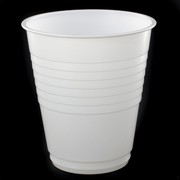 White Plastic Cups - 200ml Pk 50