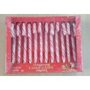 Red & White Christmas Candy Canes (10g) Pk 12