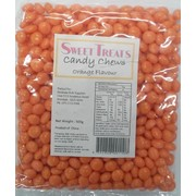 Orange Candy Chews (500g) Pk 1