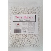 White Colour Chocolate Pearls (1kg)